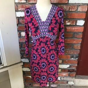Boden floral dress 6 petite